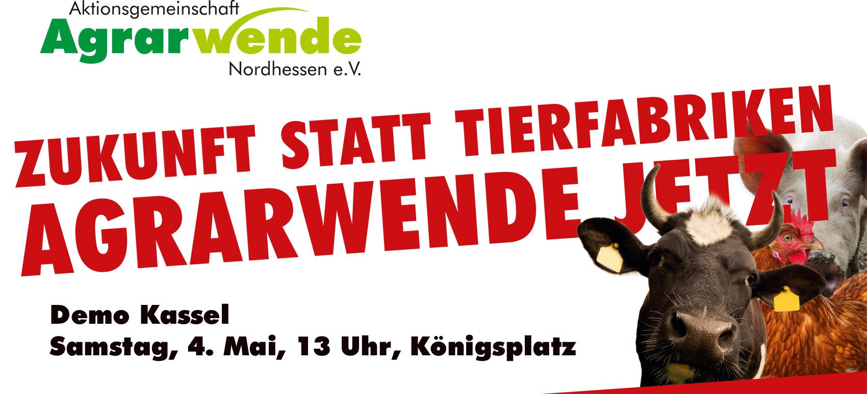Ankündigung Demo Kassel 4. Mai 2019