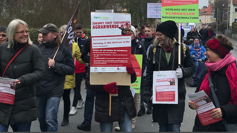 BI-Twiste bei Fridays For Future in Korbach